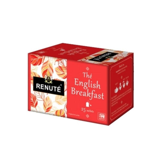 Thé English Breakfast 25 sachets - Renuté