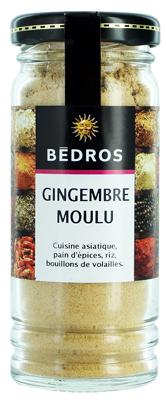 Gingembre moulu flacon Bedros