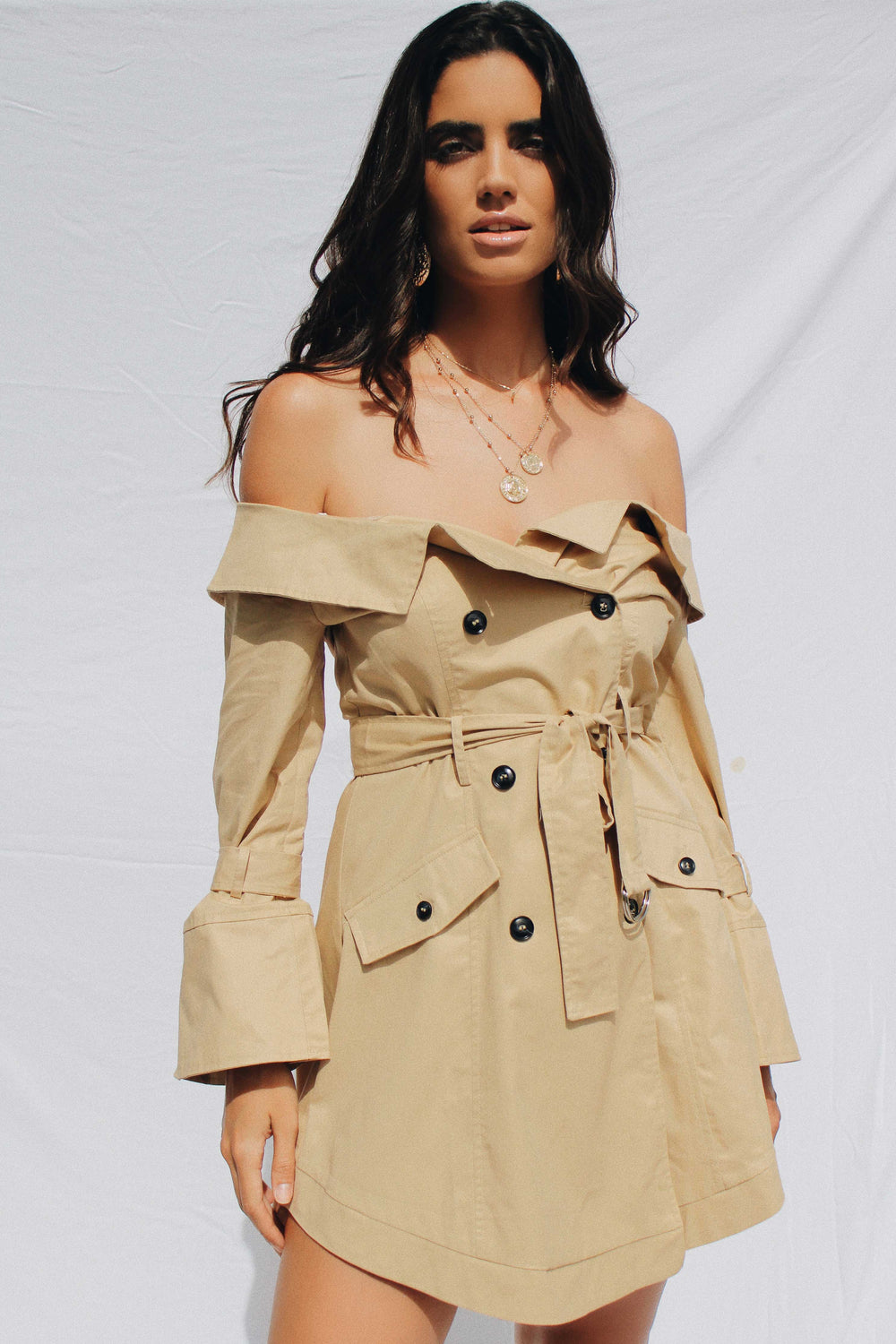 KIARA TRENCH COAT | Women's Online Shopping | CHICLEFRIQUE  (1965789708377)