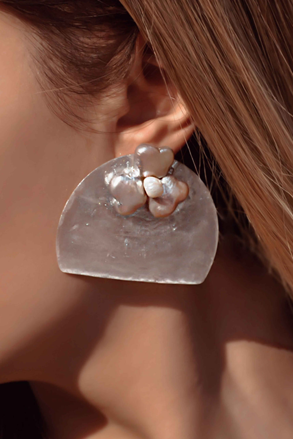CLOSER TO THE OCEAN EARRINGS - Chic Le Frique