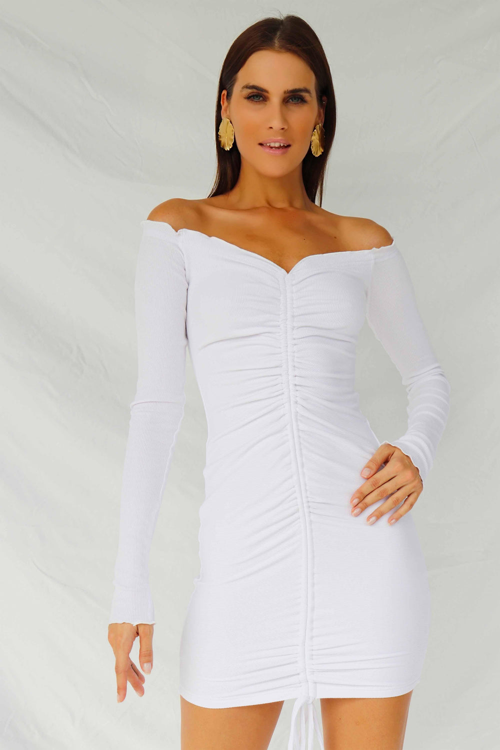 ANGELS DRESS - WHITE (4493783105625)