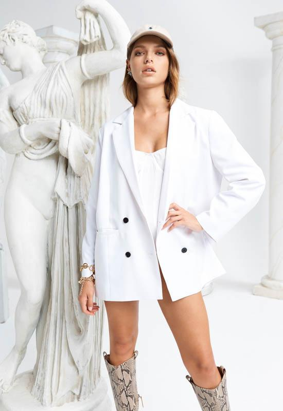 WYOMING BLAZER - WHITE (4663591698521)