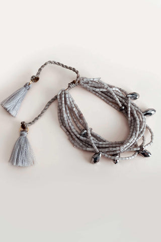 MARRAKECH NECKLACE IN SILVER