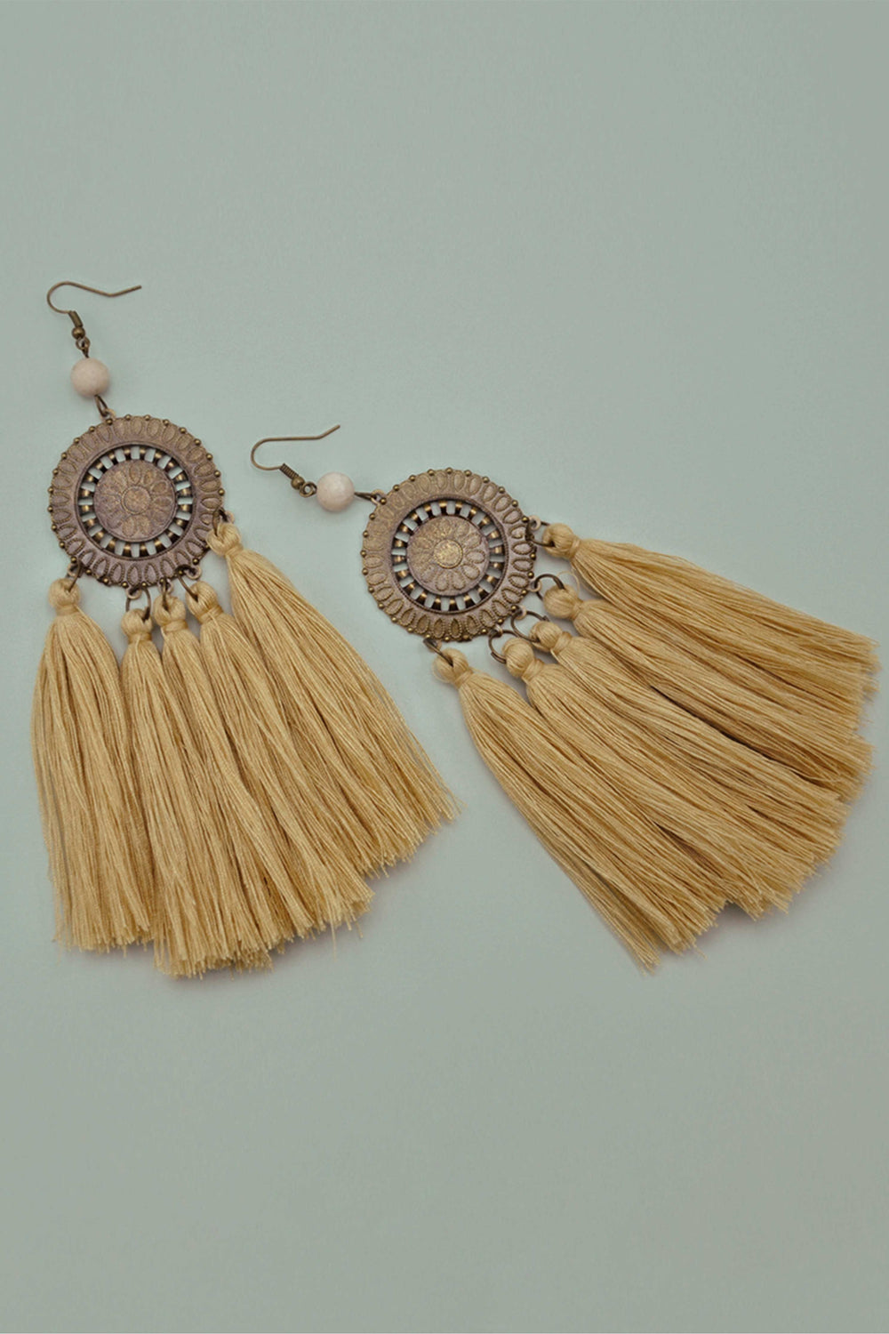 ZETA EARRINGS IN YELLOW | Women's Online Shopping | CHICLEFRIQUE