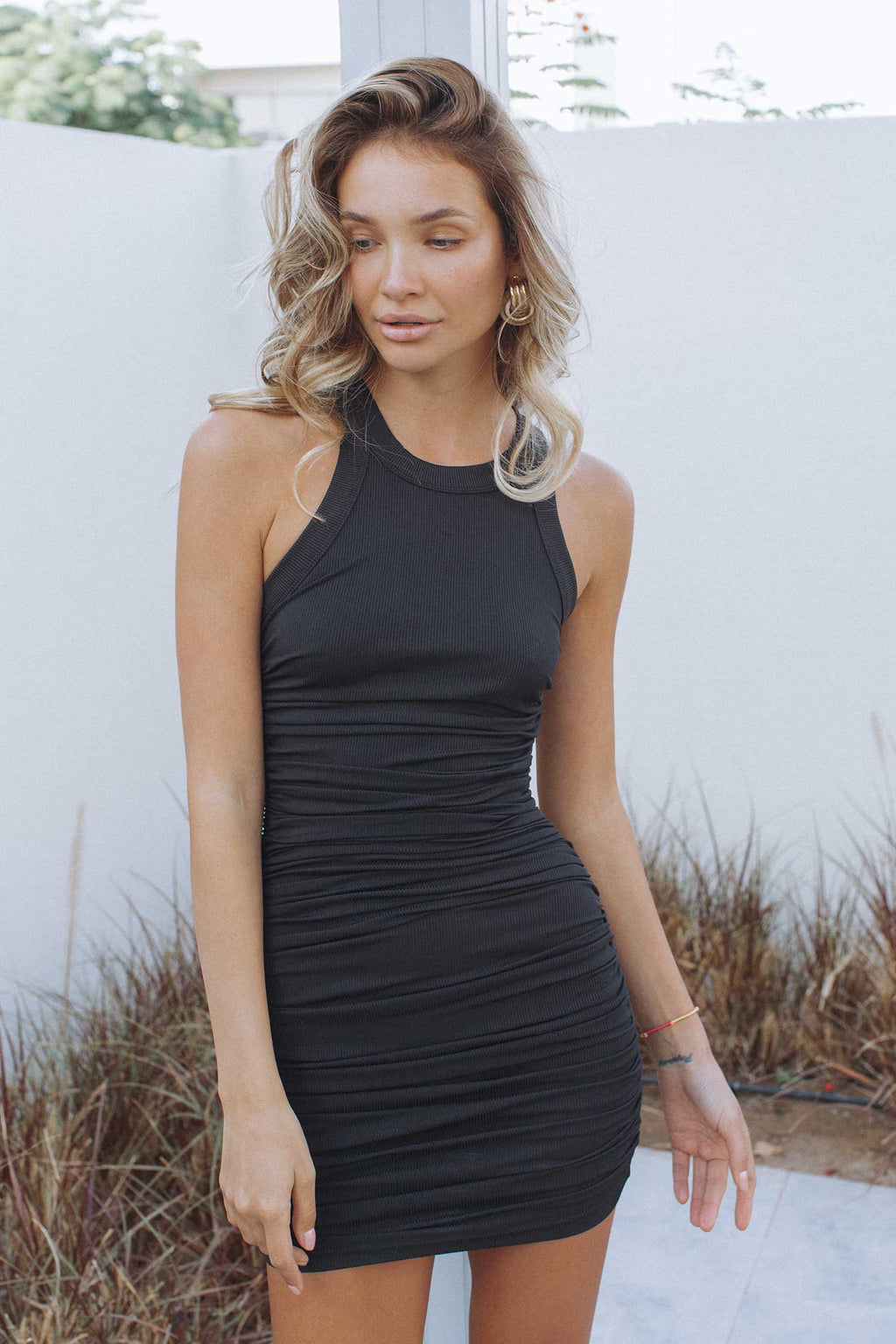 ESSENTIAL DRESS - BLACK (4718640398425)