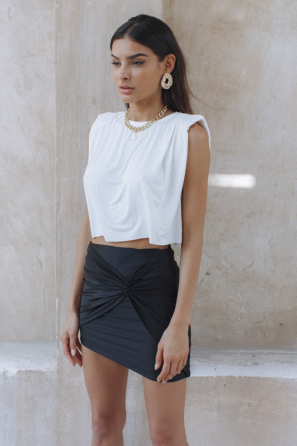 ST TROPEZ CROP TOP - WHITE (6246558367922)
