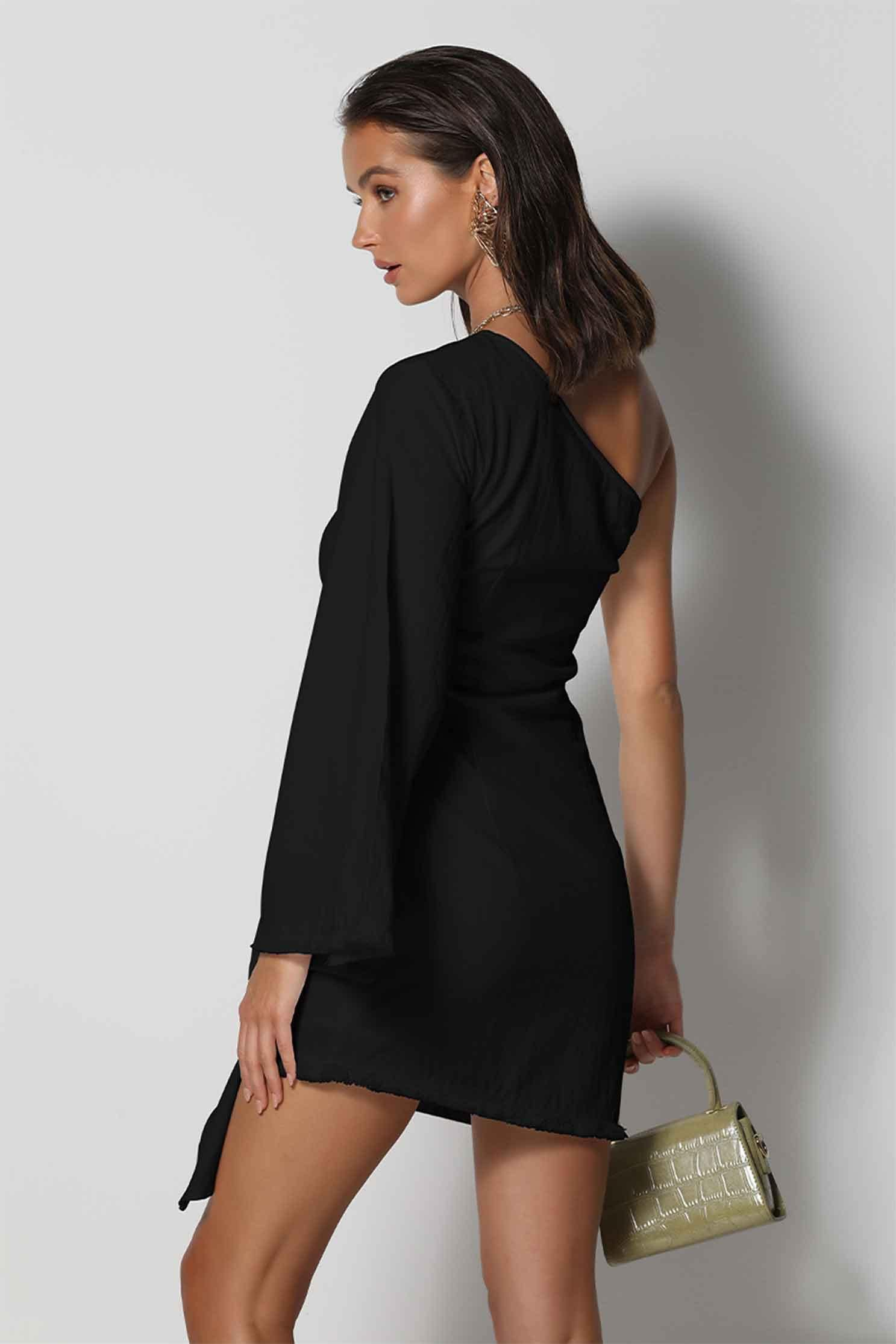 LIANA DRESS - BLACK (4627692585049)