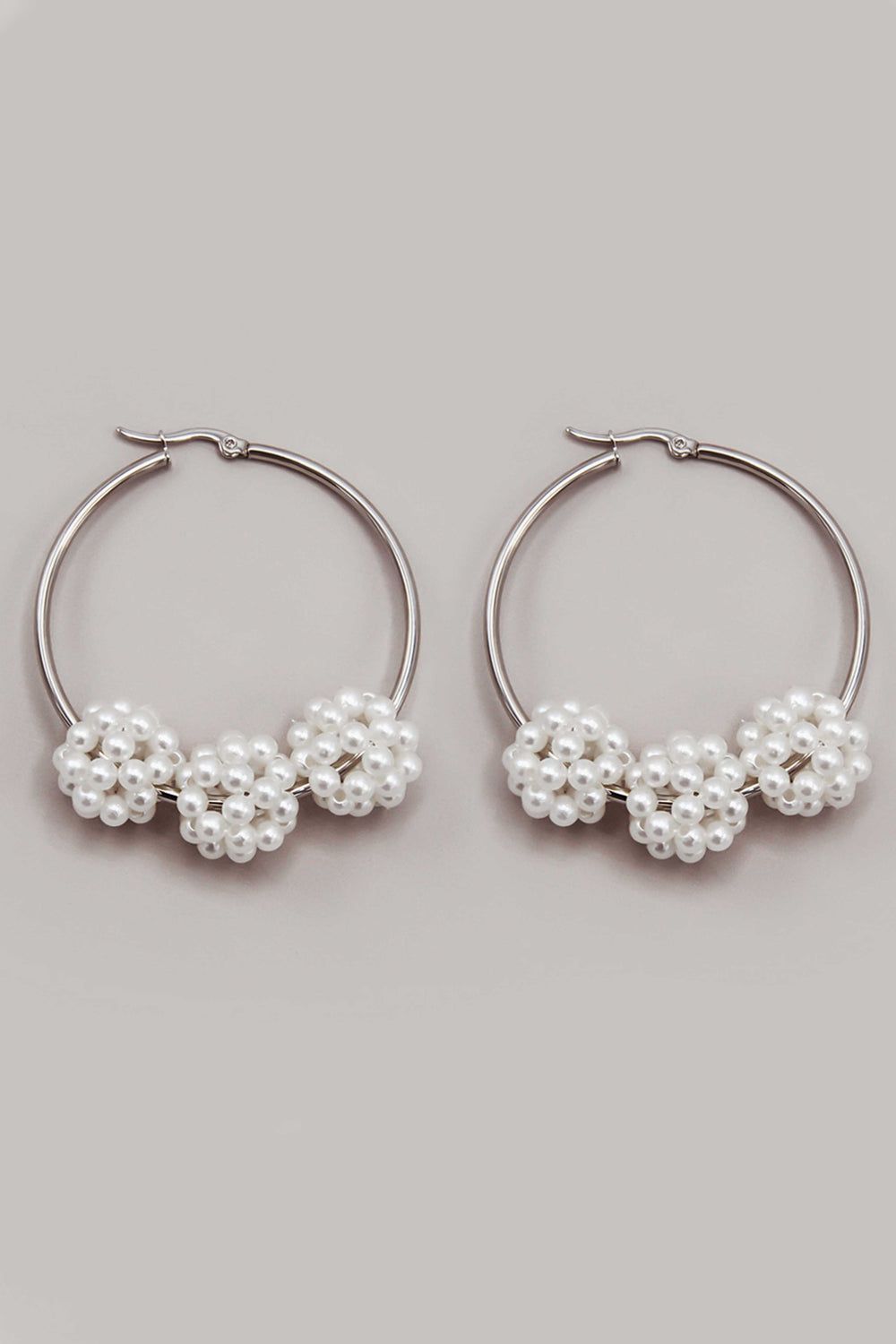 DAY DREAMING EARRINGS IN SILVER | Women's Online Shopping | CHICLEFRIQUE  (4390944964697)