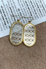 OVAL EARRINGS (1991468810329)