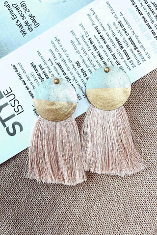 SAND BY THE SEA EARRINGS IN GOLD