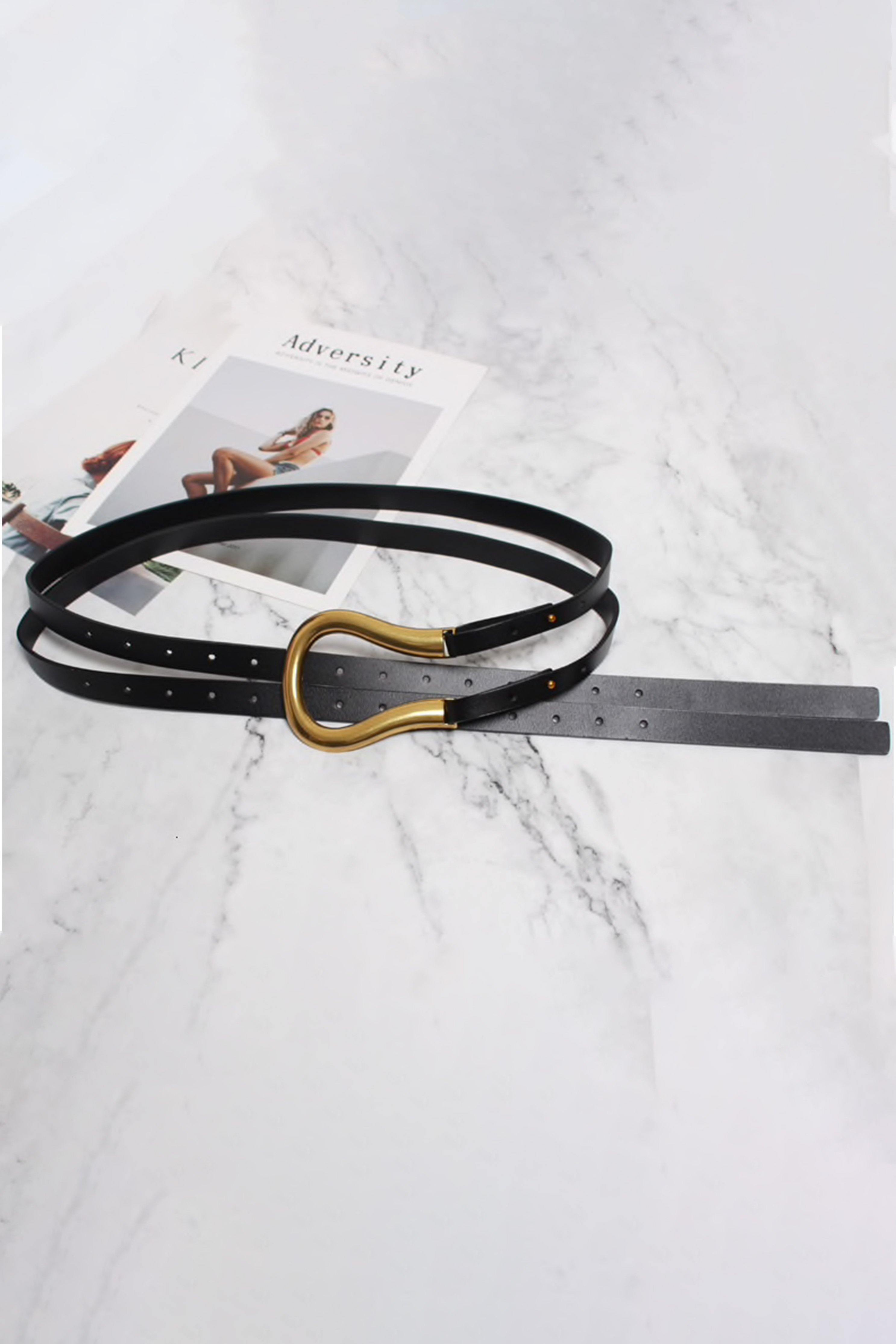 RANCHER BELT IN BLACK | Women's Online Shopping | CHICLEFRIQUE