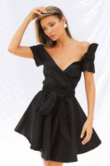 LILLY DRESS IN BLACK | Women's Online Shopping | CHICLEFRIQUE
