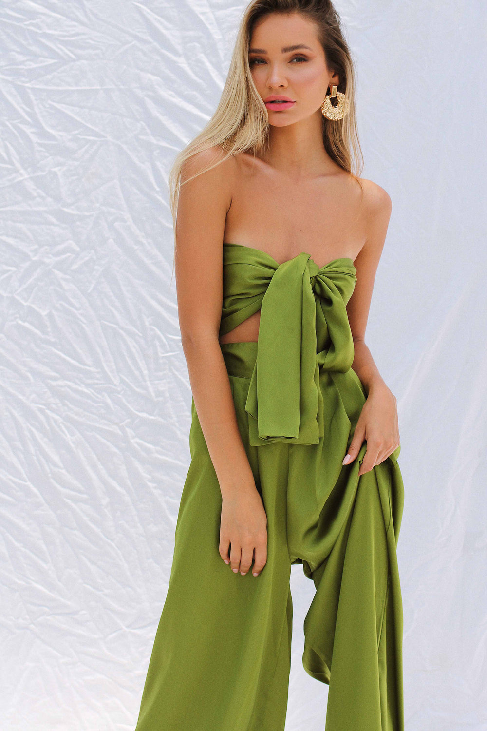 THEOLA SET IN GREEN - Chic Le Frique