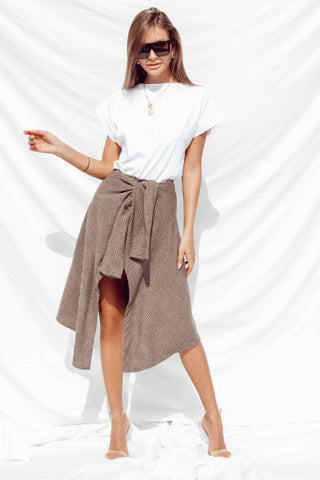 AYA SKIRT IN WHITE