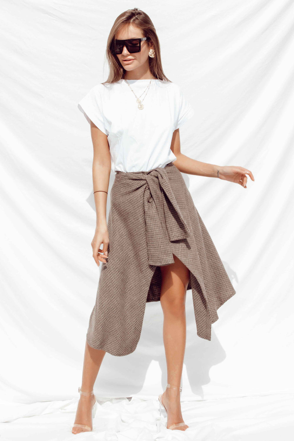 ZUMI SKIRT | Women's Online Shopping | CHICLEFRIQUE  (4385128874073)