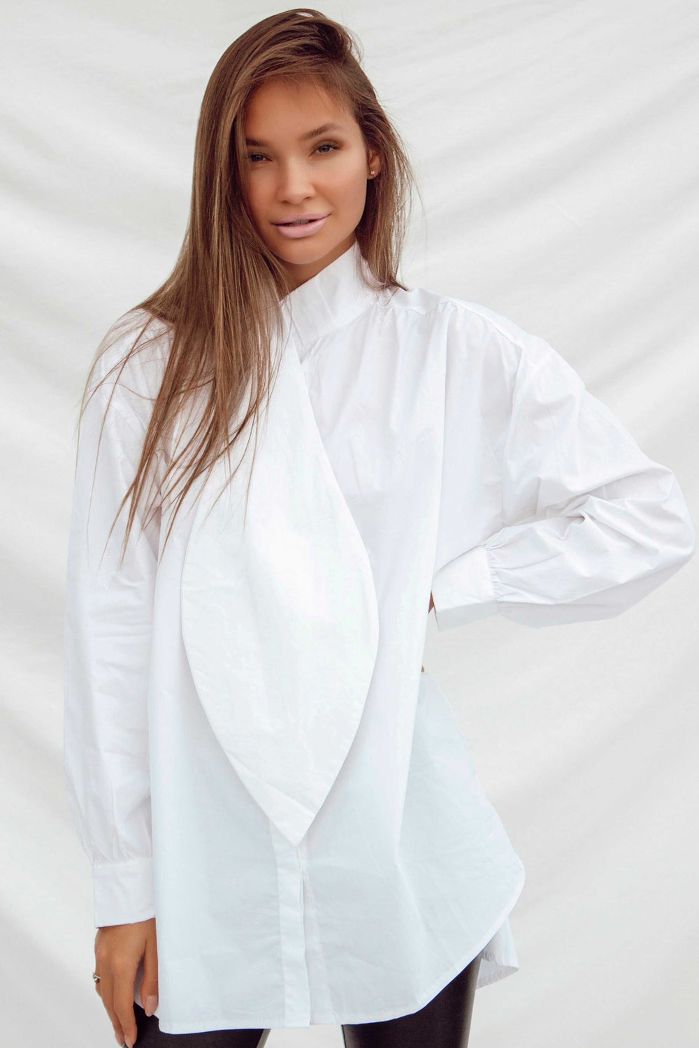 JASPER SHIRT IN WHITE | Women's Online Shopping | CHICLEFRIQUE