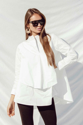 CLARA TOP IN WHITE