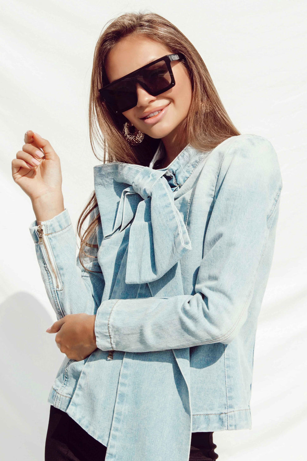 OMA DENIM SHIRT | Women's Online Shopping | CHICLEFRIQUE