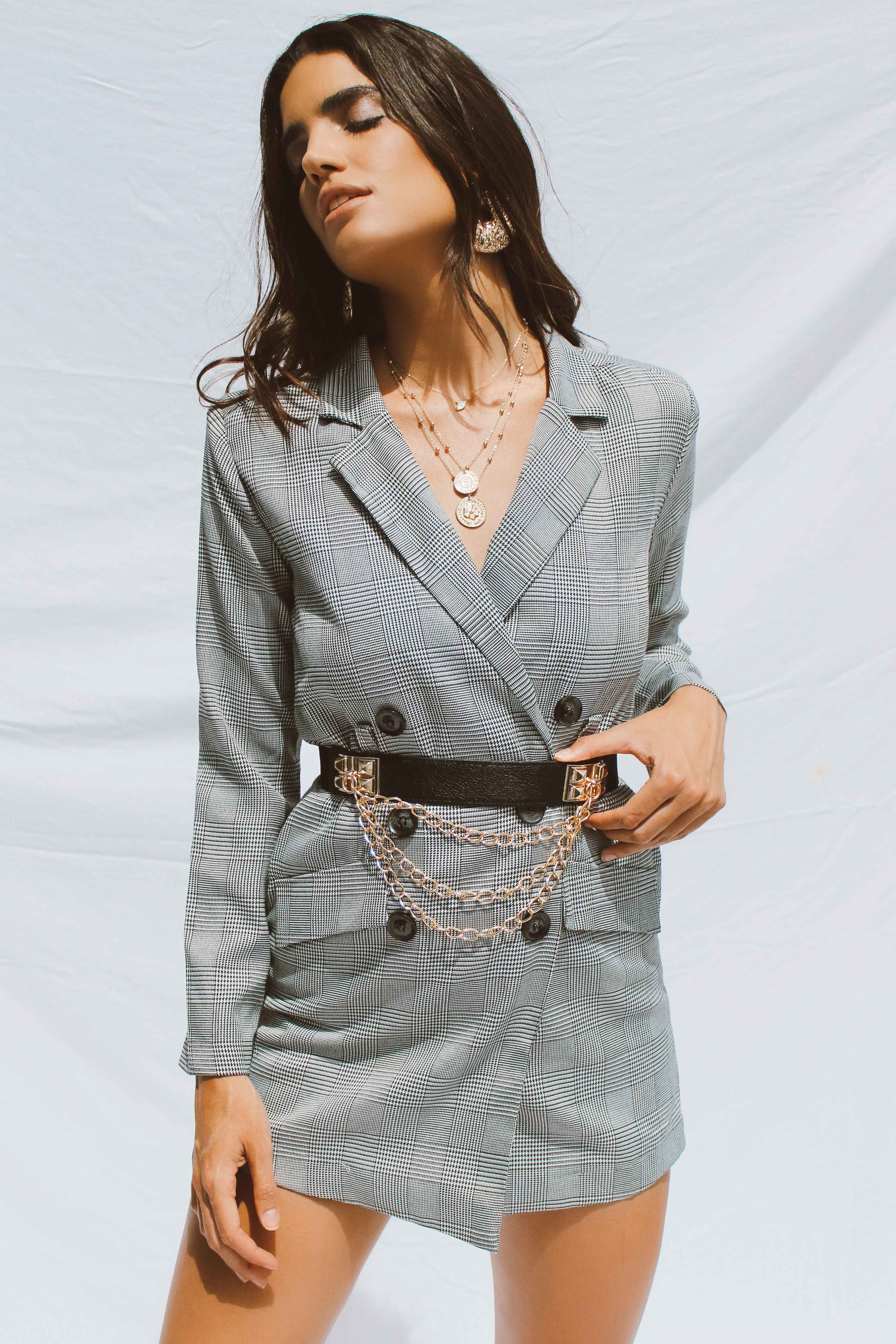 SIERRA PLAYSUIT BLAZER - Chic Le Frique