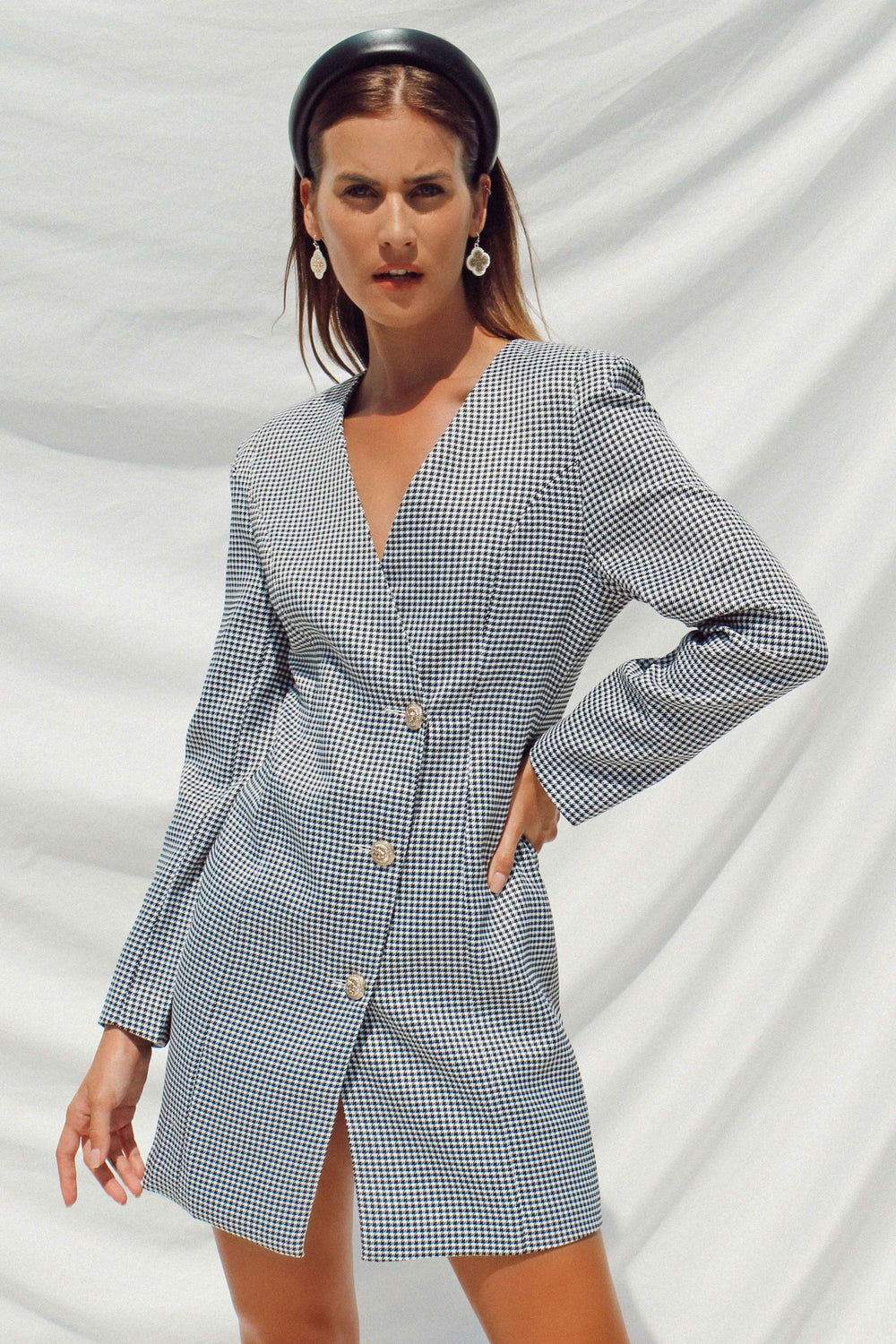 BLAKELY BLAZER DRESS - Chic Le Frique