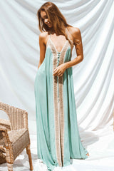 NEVADA DRESS IN GREEN | Women's Online Shopping | CHICLEFRIQUE