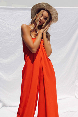 LENA OPEN BACK JUMPSUIT