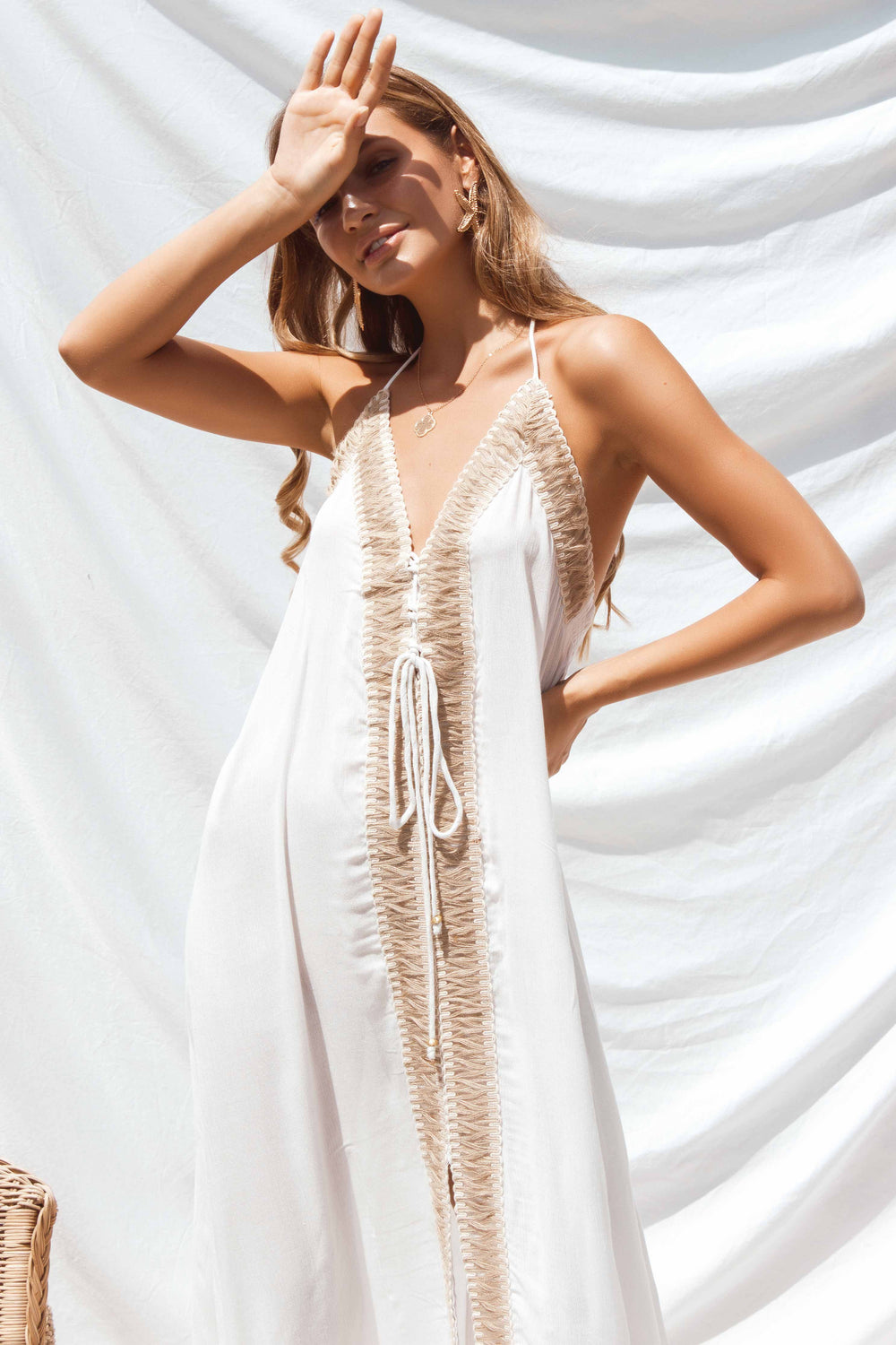 NEVADA DRESS IN WHITE | Women's Online Shopping | CHICLEFRIQUE