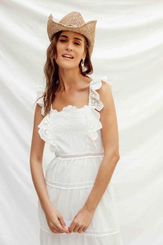 BELLA DRESS IN WHITE