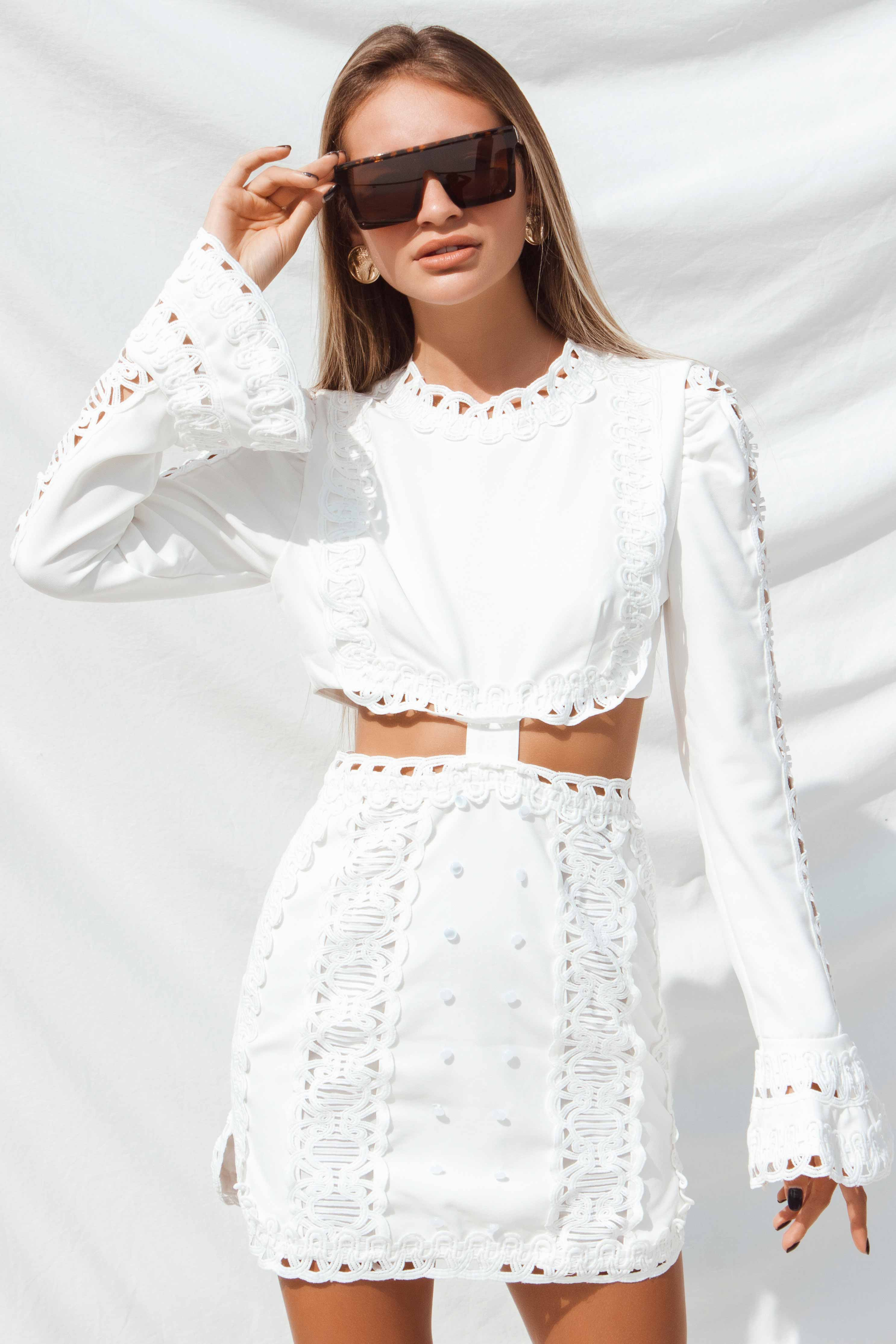 CAROLINA DRESS IN WHITE | Women's Online Shopping | CHICLEFRIQUE  (4323466707033)