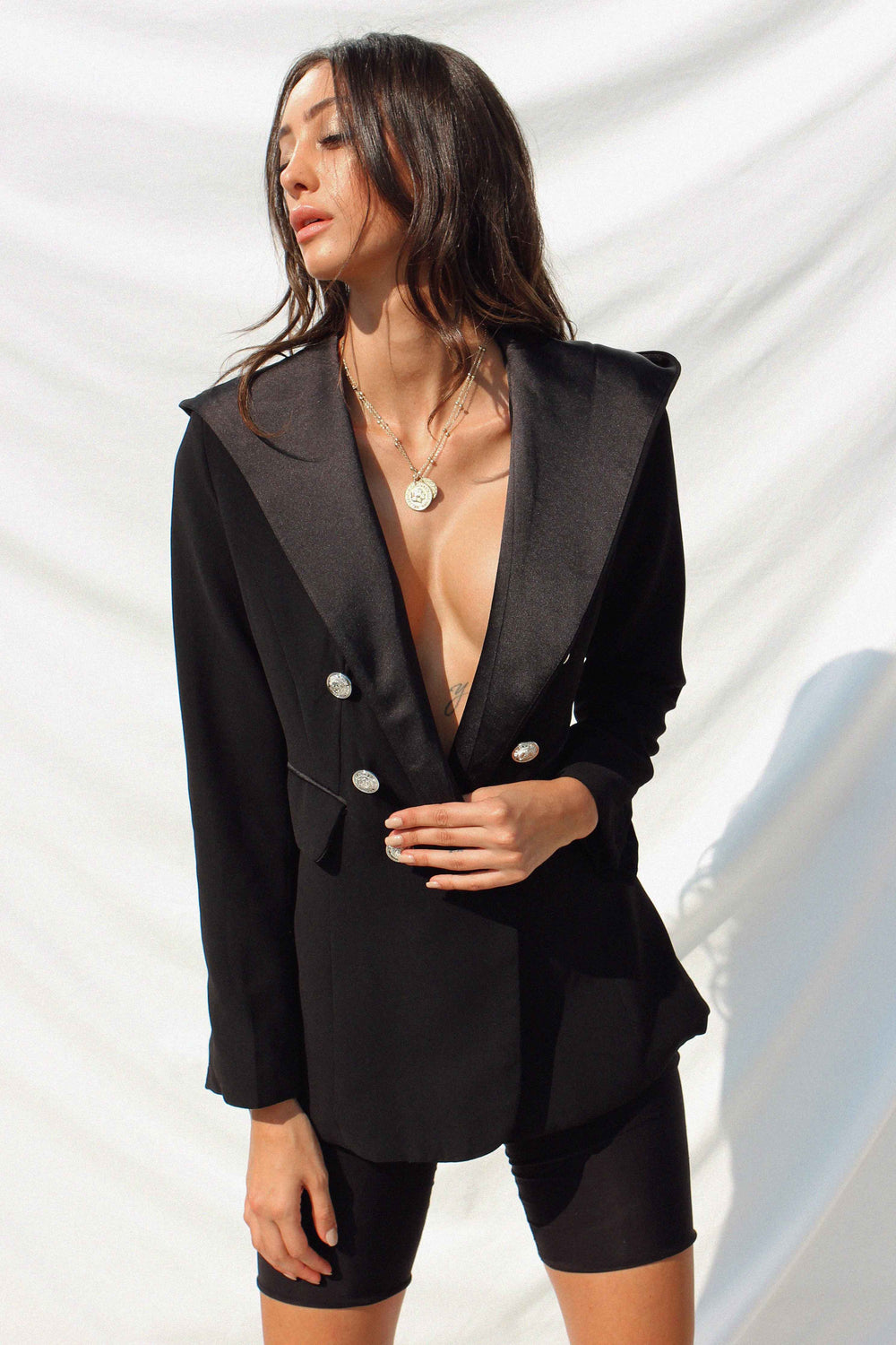 CHARLIZE BLAZER | Women's Online Shopping | CHICLEFRIQUE  (4159651577945)