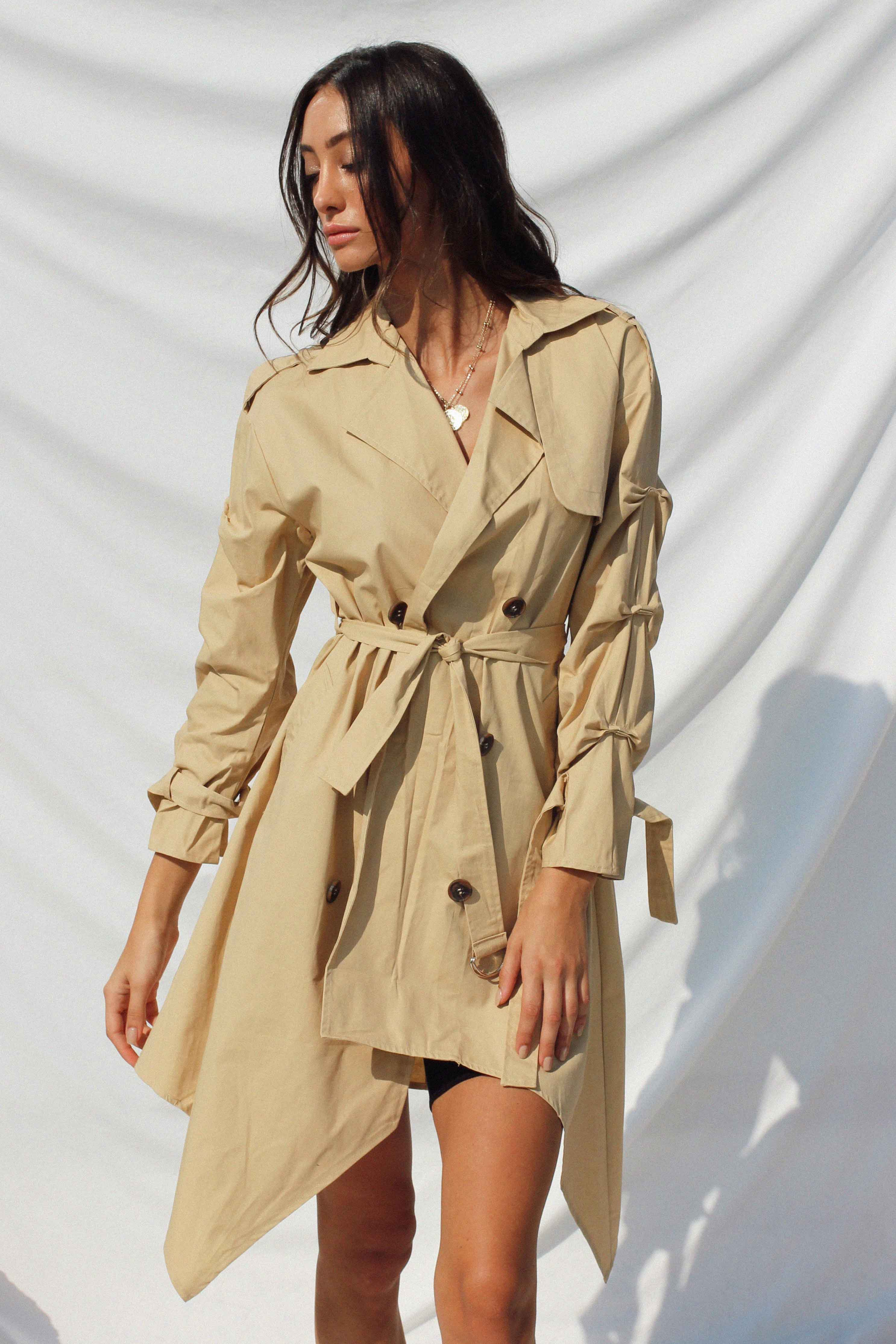 MILENA TRENCH COAT | Women's Online Shopping | CHICLEFRIQUE