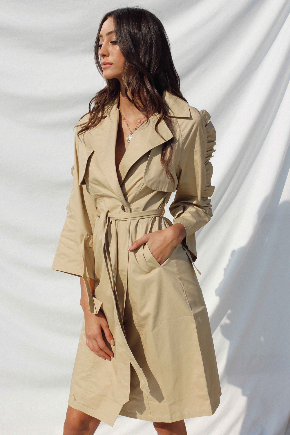VARVARA TRENCH COAT | Women's Online Shopping | CHICLEFRIQUE  (1966213070937)