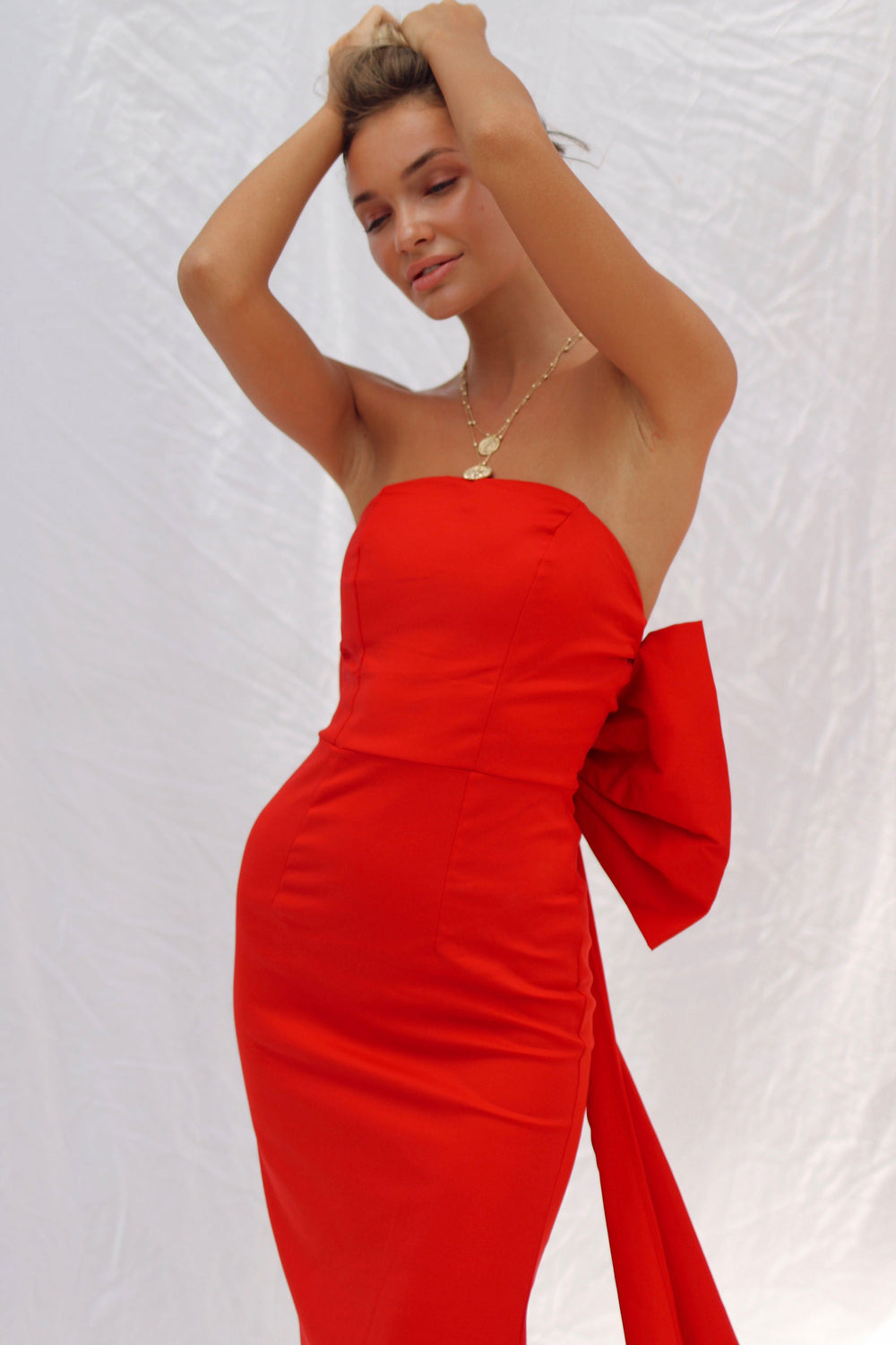 PARIS DRESS IN RED | Women's Online Shopping | CHICLEFRIQUE  (1965762478169)