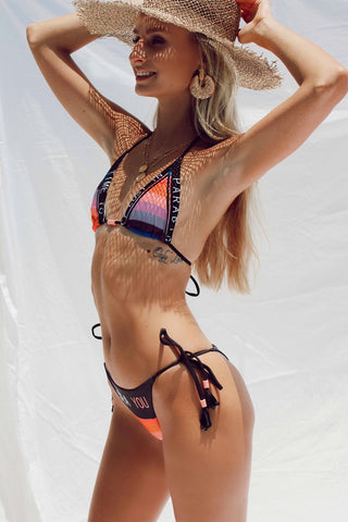 CRYSTAL BODYSUIT/SWIMWEAR