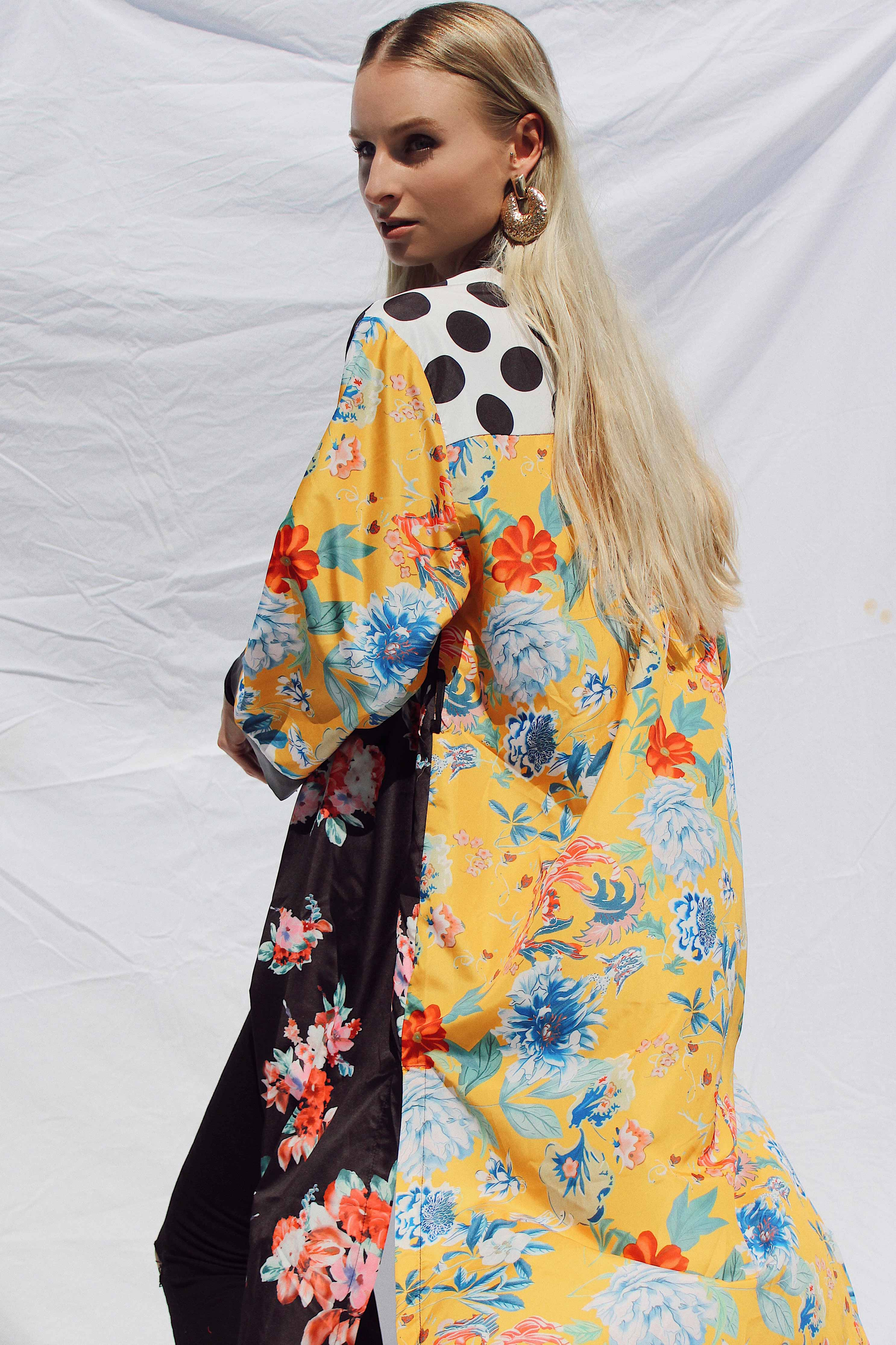 FLORAL PRINTED KIMONO | Women's Online Shopping | CHICLEFRIQUE  (2095893119065)