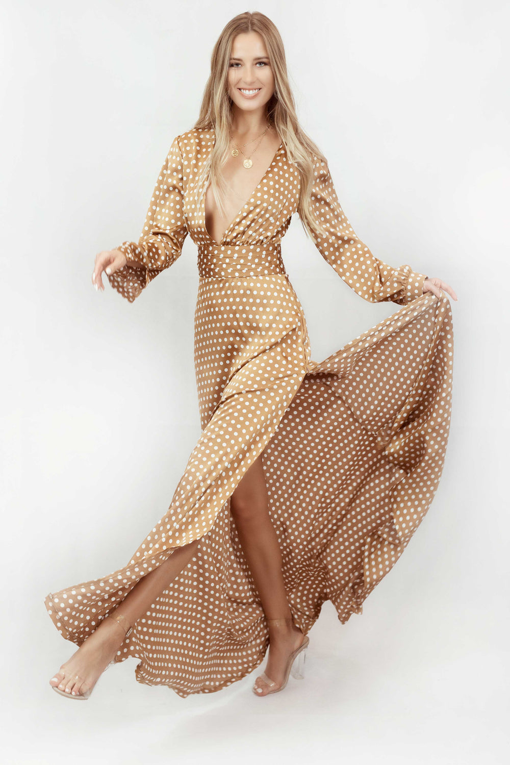 KESHA MAXI DRESS - Chic Le Frique
