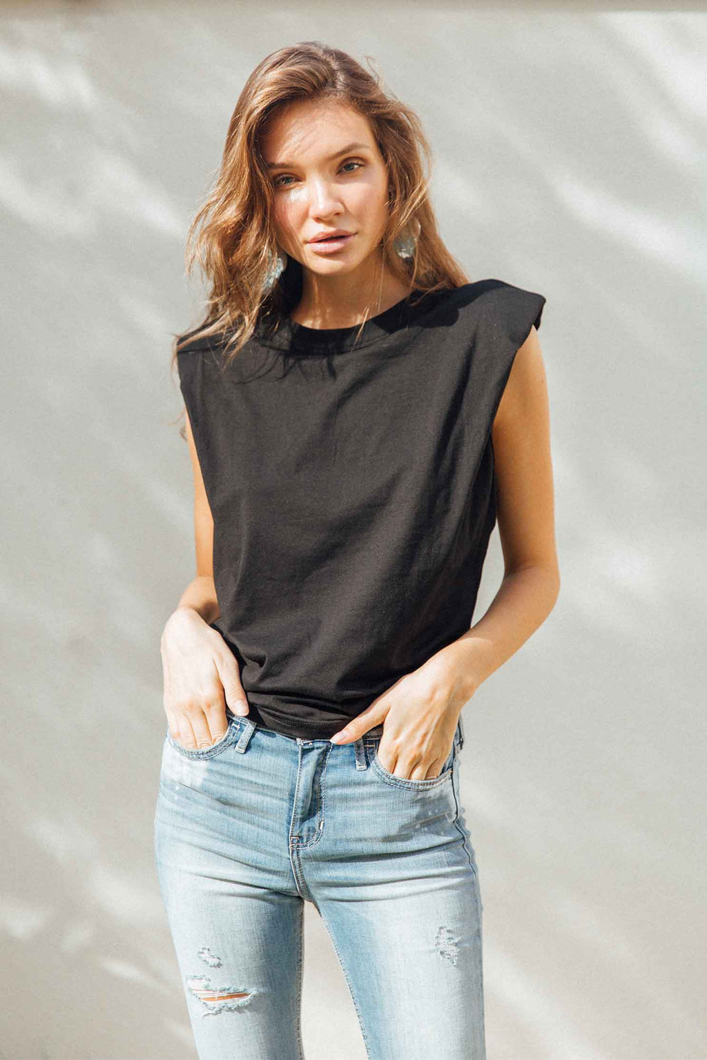STEFANIA TOP - BLACK (4693301198937)