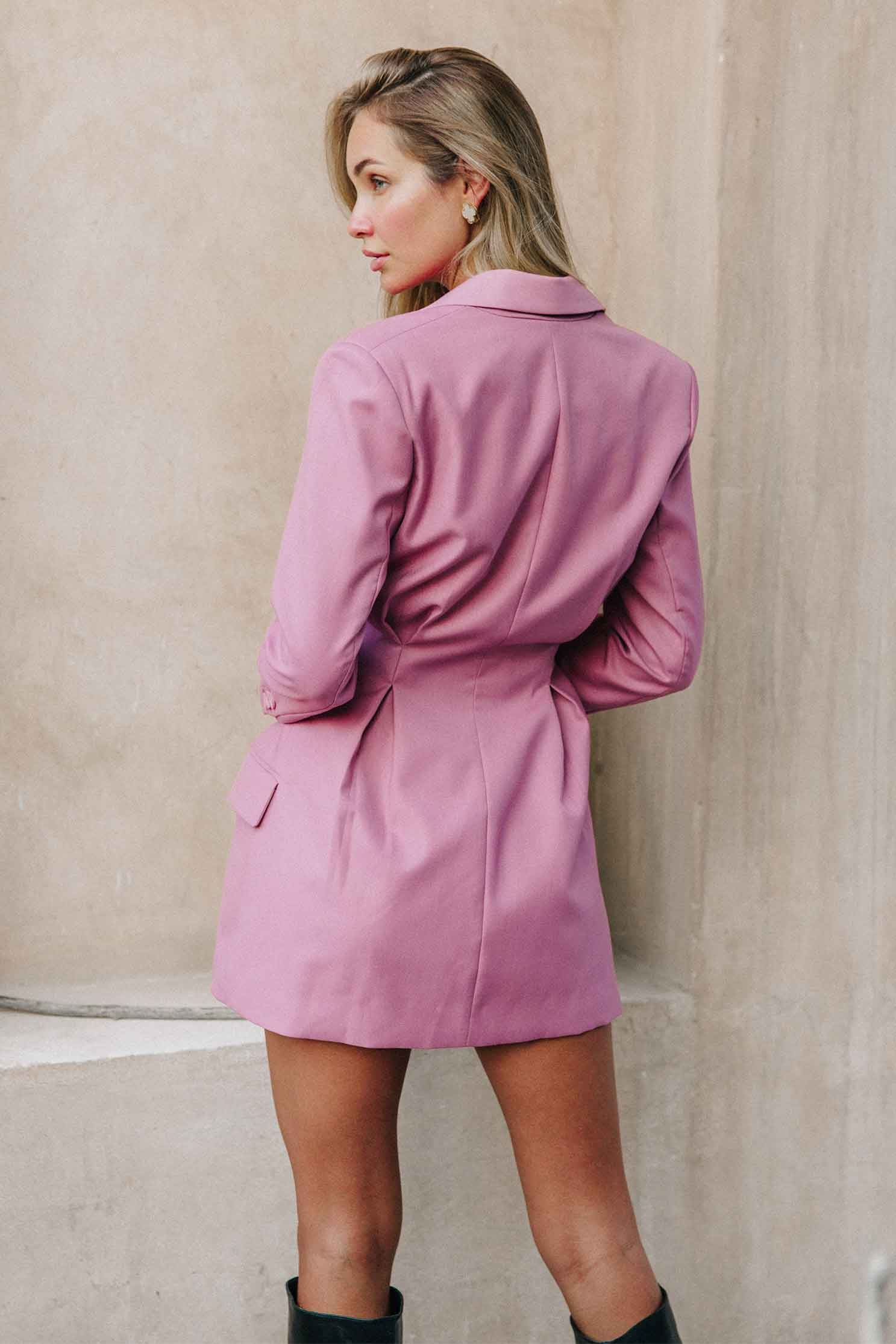 BERNADETTE BLAZER DRESS (4729780699225)