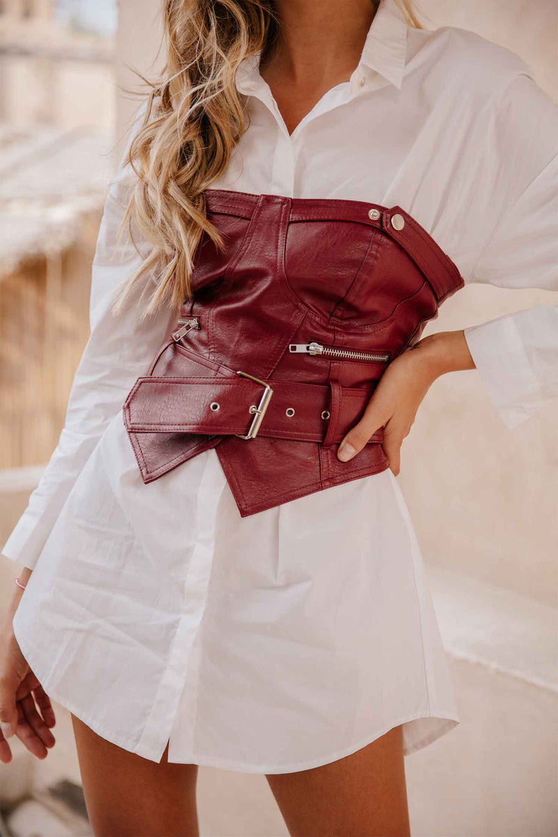 TOVE BUSTIER - BURGUNDY (6071438213298)