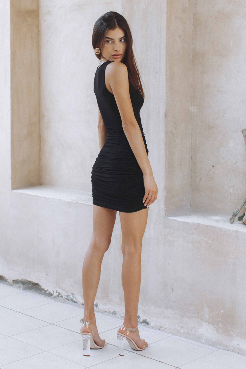 ATLAS DRESS - BLACK (6227743277234)