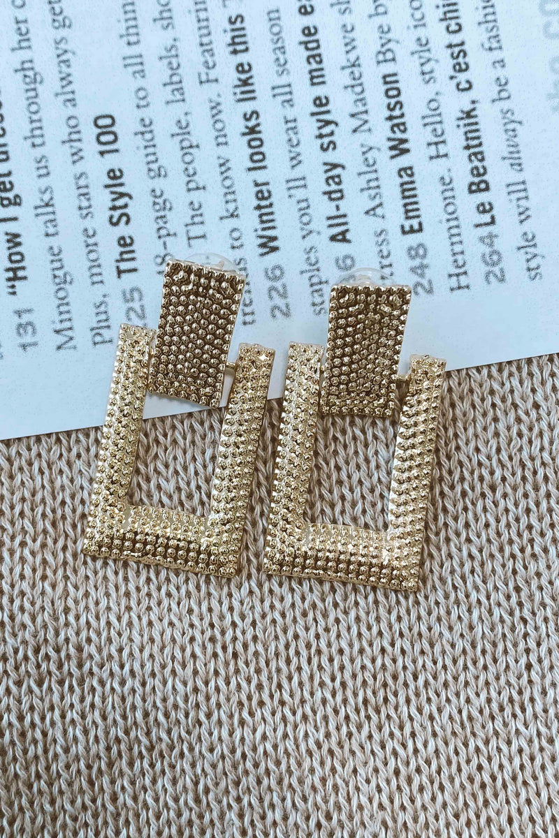GEOMETRY EARRINGS (6093965721778)