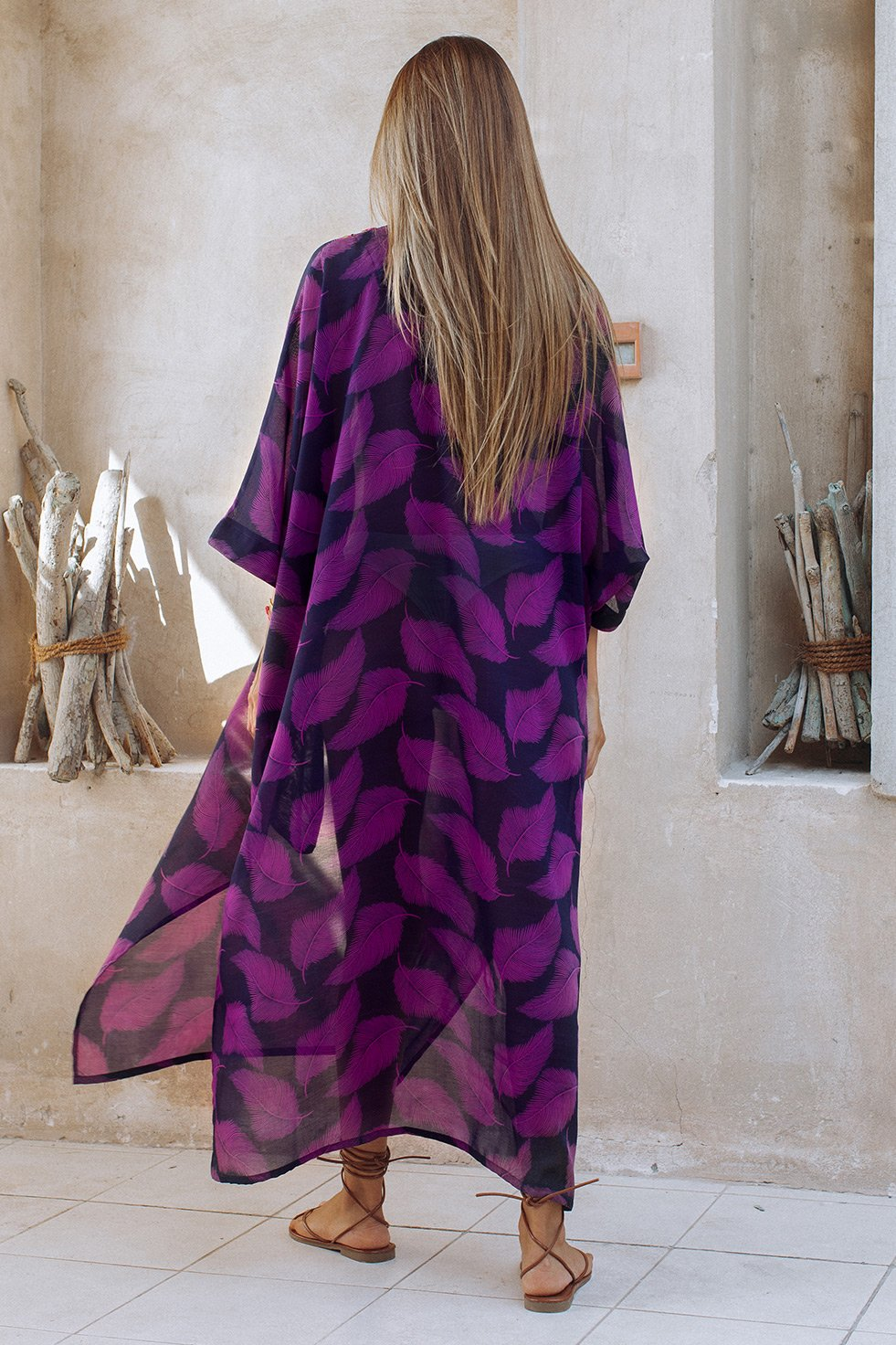 RISHA KAFTAN - PURPLE (6651601846450)