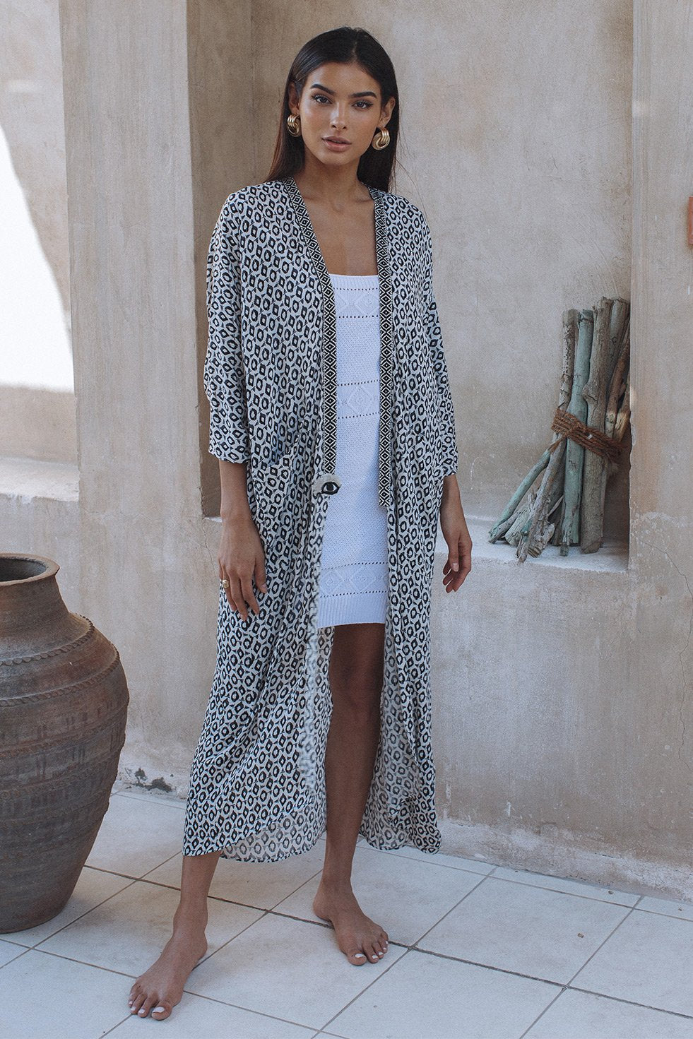 EYE ON YOU ROBE WITH POCKETS (6573018808498)