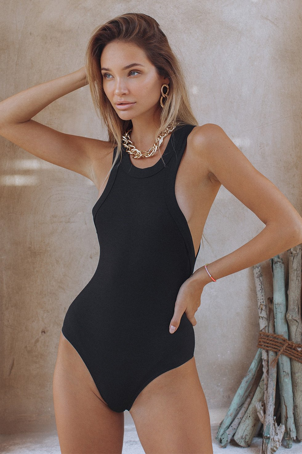 MUST HAVE BODYSUIT - BLACK (6558150820018)