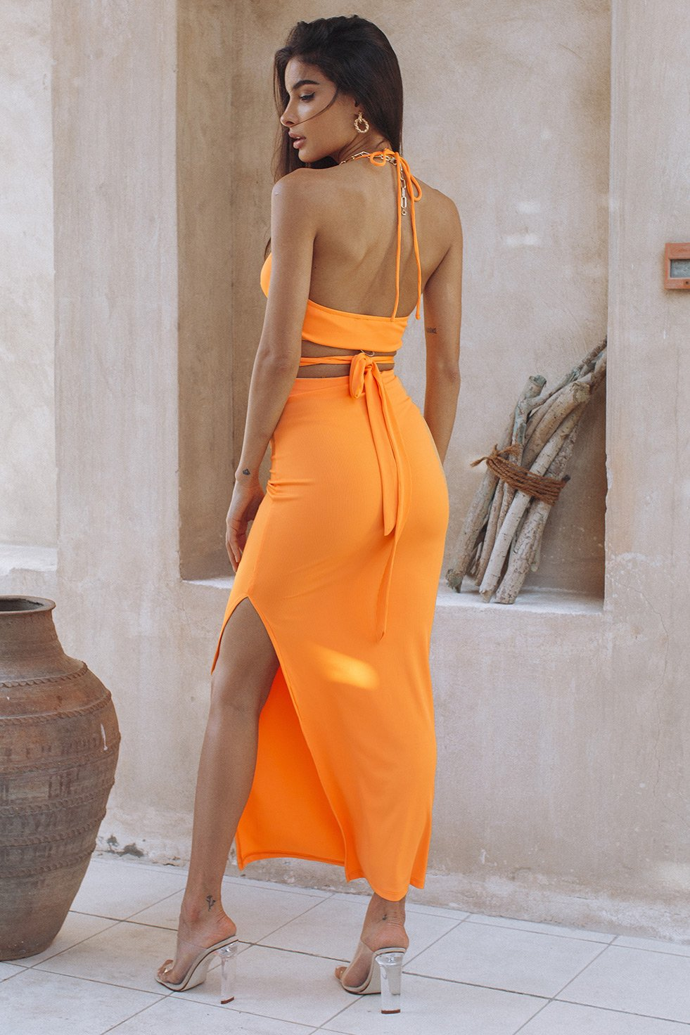 SUNNY DAZE SET - ORANGE (6570665017522)