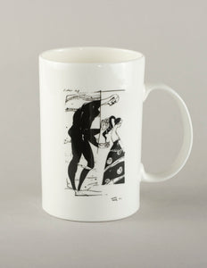 Hair Ribbon. Medium Mug
