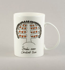 Cordial tree. Large Mug