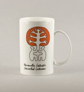Connected Latvians 1. Medium Mug