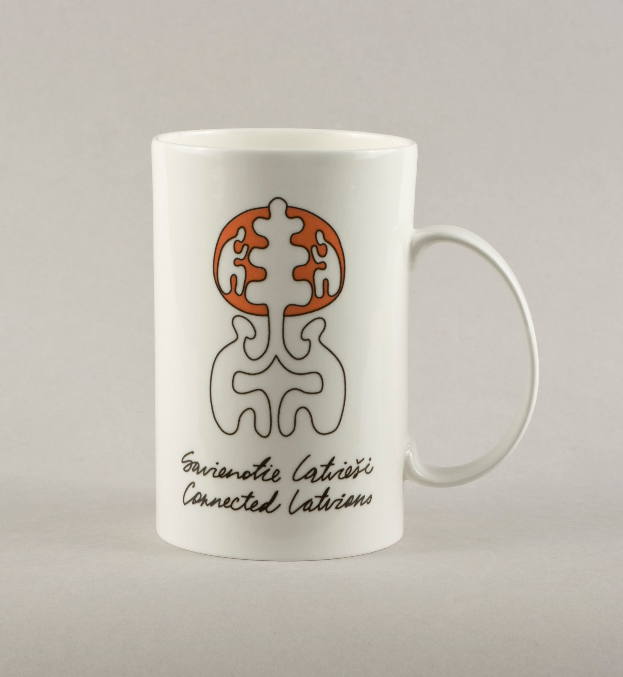 Connected Latvians 2. Medium Mug