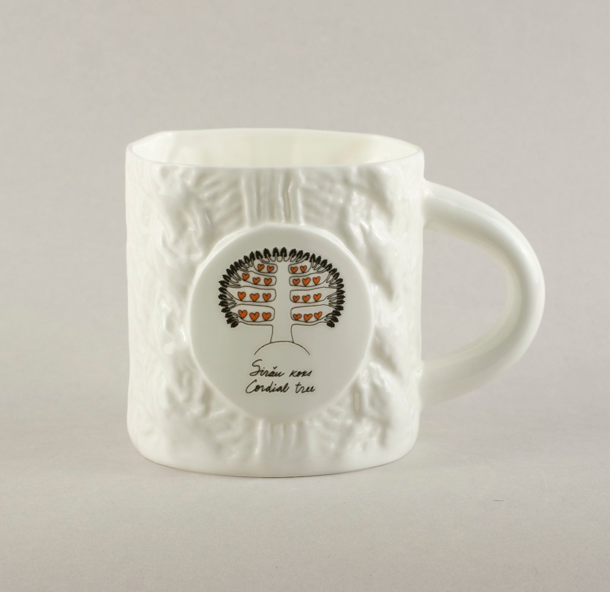 Cordial Tree. Knitted Tea Mug
